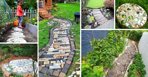 12 Creative Garden Paths for Less Cost than You Might Expect