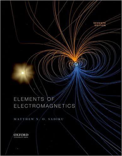 Elements Of Electromagnetics 7th 7e By Matthew Sadiku Pdf Books Free Pdf Books Ebook Pdf Book