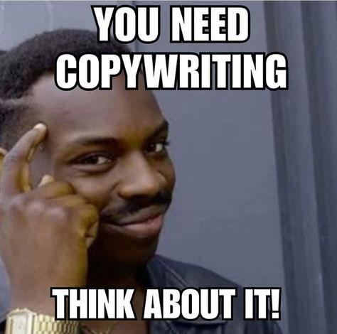 Copywriting meme