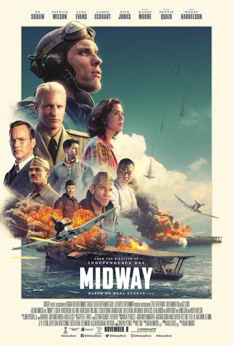 Mensch Agency On Twitter Midway Movie Movie Posters Movies