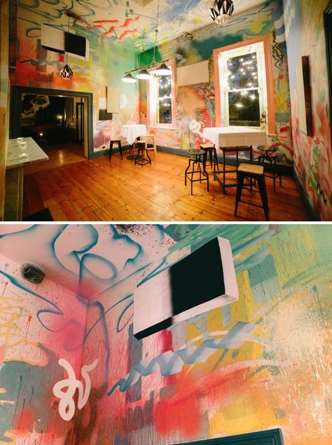 Murals - Poolroom all-over painting