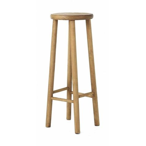 Tabouret De Bar Pin Brut Aspect Lisse Region Tabouret De Bar Meuble En Pin Tabouret