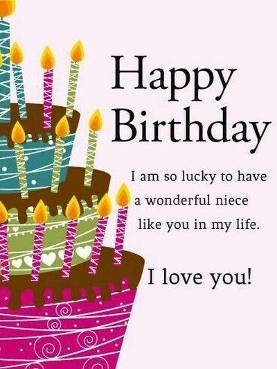 Happy Birthday To My Beautiful Niece Happy Birthday Niece Happy Birthday Niece Wishes Niece Birthday Wishes
