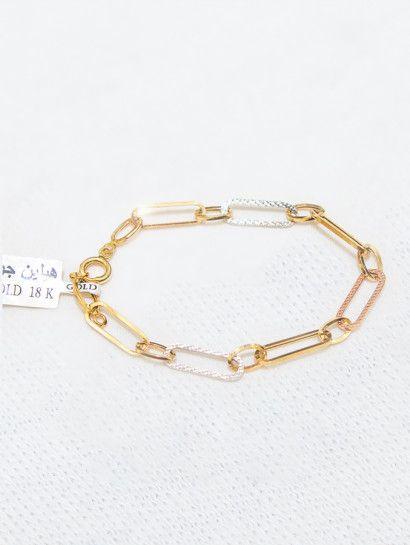 انسيال ذهب عيار 18 انسيال ذهب خصم 20 على المصنعية Gold Bracelet Gold Bracelets