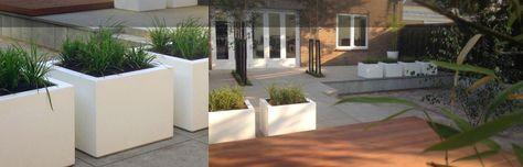 Moderne bedrijfstuin tuin princenhage. Breda - luxe - tuinen - hardhouten - vlonder - meter - tegels - berken - bomen - sier - grassen - hovenier - tuinarchitect