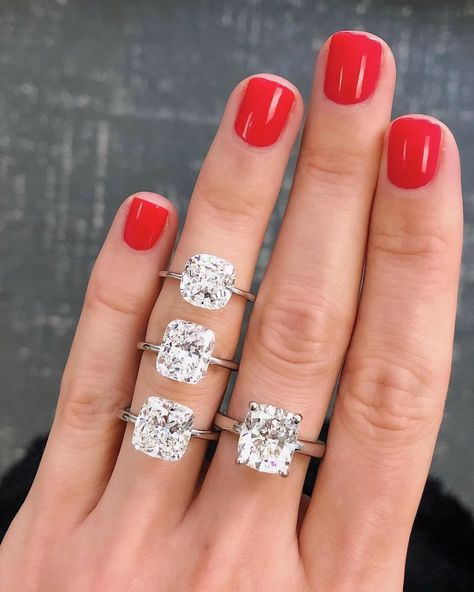 3 Types of Cushion Cut Diamonds to Know | Ring Concierge