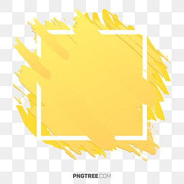 Hermoso Color Abstracto Amarillo Marco Pastel Cuadrado Png Y Psd Para Descargar Gratis Pngtree Yellow Painting Abstract Paint Background