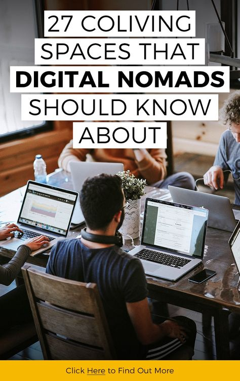 27 Coliving Spaces that Digital Nomads Should Know About - Katie Goes