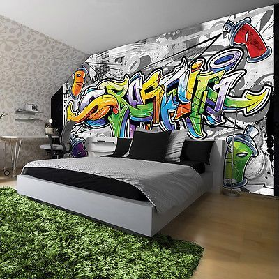 Most Up To Date Free Poster Wallpaper Photo Wallpaper Mural Style Colorful Graffiti Street 2295 P4 Conce Boys Bedroom Wallpaper Graffiti Bedroom Graffiti Room