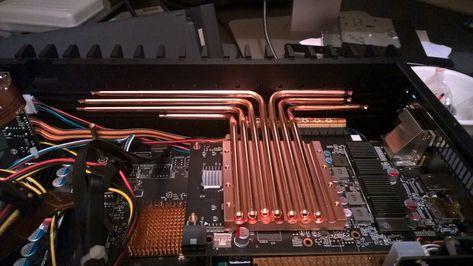 Hdplex 2nd Gen H5 Case With Gtx950 And 100w Linear Psu Computer Case Pc Cases Htpc