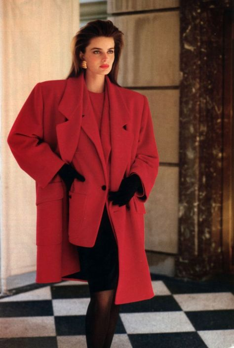Anne Klein, Toronto Life Fashion, October 1987. #1980SFashionTrends