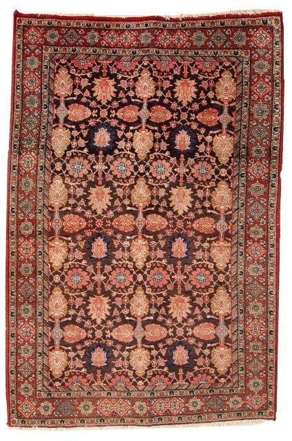 Hand Made Antique Persian Bidjar Rug 4 4 X 6 6 134cm X 202cm 1930 1c289 Rugs On Carpet Rugs Carpet Handmade