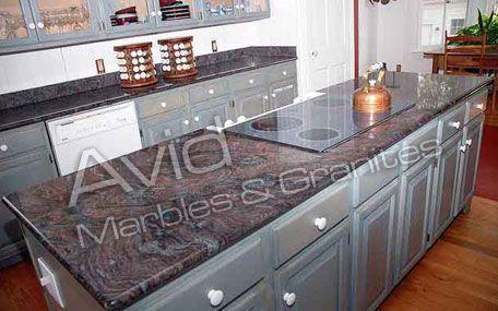 Granite Countertops Kitchen Countertop Materials Kitchen Cabinet Design Kitchen Countertops