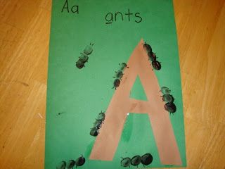 Moments of Mommyhood: Aa-Ants