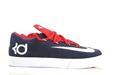 fb0c63260cb9 Nike KD Vulc (Kids) - Obsidian   White-University Red