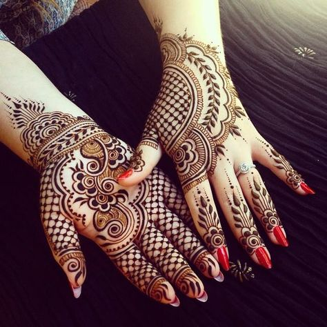 20 Simple Easy and Beautiful Mehndi Designs for Hands 2016