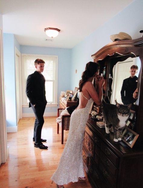 Dresses Elegant, Pretty Prom Dresses, Hoco Dresses, Mermaid Prom Dresses, Homecoming Dresses, Wedding Dresses, Cute Couples Photos, Cute Couple Pictures, Teen Couples