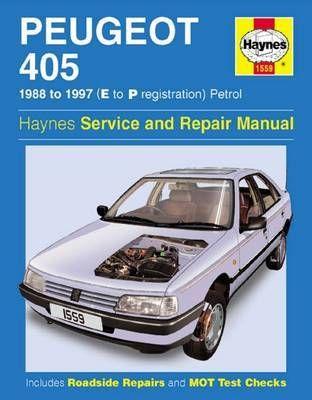 Peugeot 405 Petrol Service And Repair Manual Hardback Steve Rendle Repair Manuals Peugeot Auto Repair
