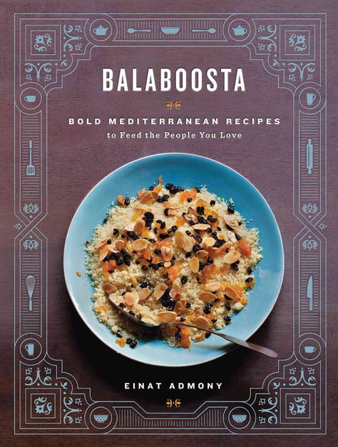 Einat Admony is a 21st-century balaboosta (Yiddish for perfect housewife).Shes a mother and wife, but also a chef busy running three bustling New York City restaurants. Her debut cookbook features 140
