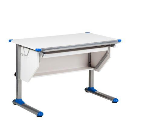 Schreibtisch Weiss Hohenverstellbar Modernes Design Stehpult Kinder