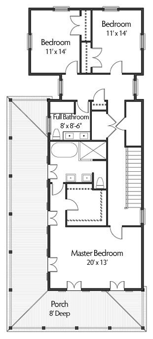 Rialto Road Coastal House Plans From Coastal Home Plans Narrow Lot House Plans Coastal House Plans House Plans