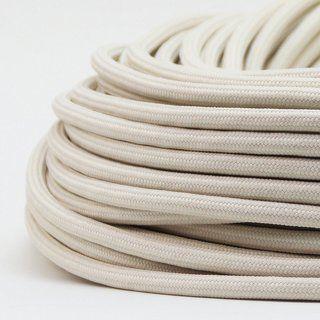 Textilkabel Stoffkabel Elfenbein 3 Adrig 3x0 75 Zug Pendelleitung S03rt F 3g0 75 Textilkabel Textil Kabel