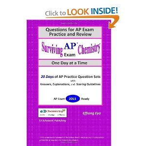 ap chemistry exam essay questions