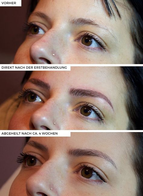 Microblading. I seriously want this done so bad. #EyeMakeupForGlasses