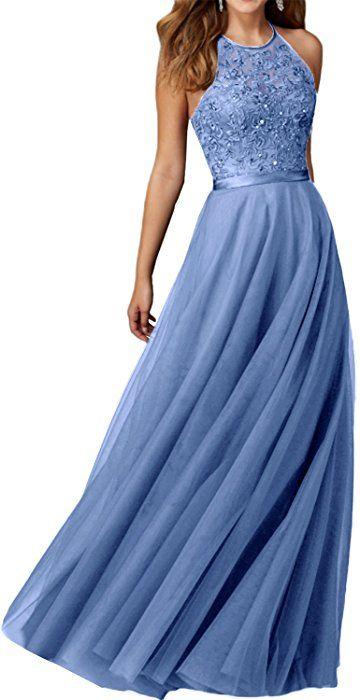 ballkleid blau amazon
