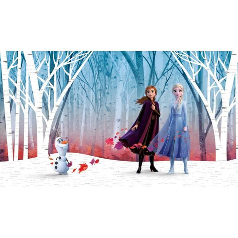 Disney's Frozen 2 Woodland Tree Peel and Stick Mural