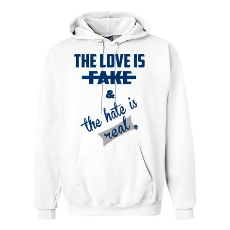 326753fe8545 Jordan 12 French Blue White Hoodie (Hate Is Real) - illCurrency Matching T- shirts For Sneakers