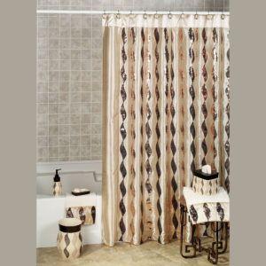 Shimmer Gold Shower Curtain Tan Shower Curtain Cool Shower