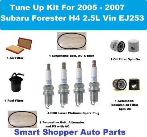 Tune Up Kit Air Oil Fuel Filters Plugs Wire FIT Toyota RAV4 2.0L 1998-2000