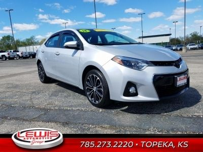 Used 2016 Toyota Corolla S Plus Was 17 300 Lewis Discount