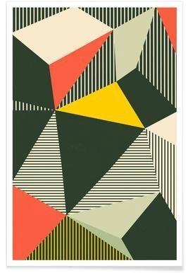 Abstrakte Und Geometrische Poster Abstrakte Bilder Juniqe Ch Bauhaus Art Bauhaus Poster Abstract