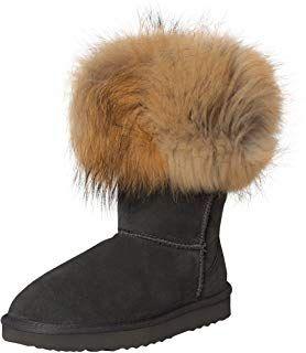 SKUTARI Wildleder Damen Winter Boots   Warm Gefüttert