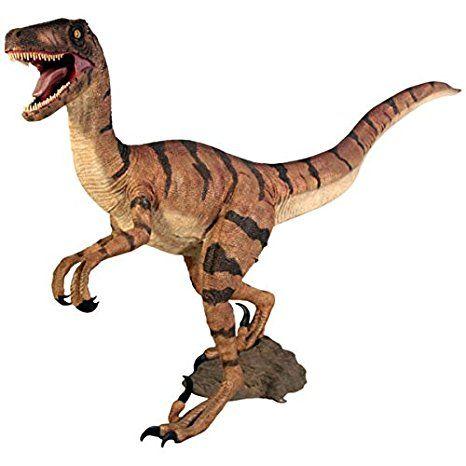 Velociraptor Lebensgross 157cm Fur Draussen Aus Hochwertiger Glasfaserkunststoff Gfk Dinosaurier Figur Fantasie Garten Dinosaurier Figuren Deko Natur Draussen