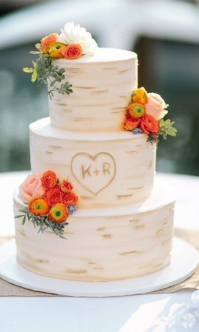30 Rustic Wedding Cakes We Can T Get Enough Of Wedding Cake Rustic Country Wedding Cakes Simple Wedding Cake