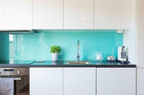 9 besten FascinatorBerlin - Küchen mit Glasrückwand Bilder auf - glasrückwand küche beleuchtet
