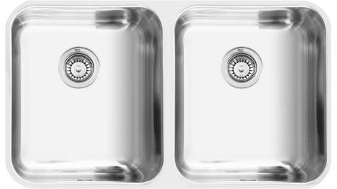 Mercer Cook 770 Double Main Bowl Sink - Sinks - Sinks & Taps ...