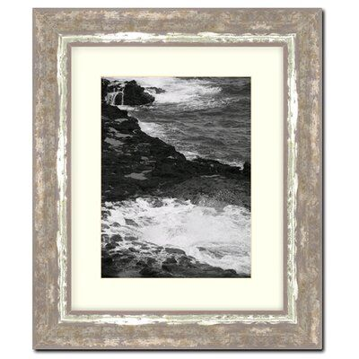 Frames By Mail 11 X 14 Frame In Cocoa And Moss Silver Wood Picture Frames Picture On Wood Blue Picture Frames