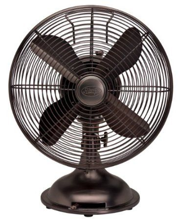 $67.89 Amazon.com: Hunter Fan 90406 12 Oscillating Desk Fan   Oil Rubbed  Bronze
