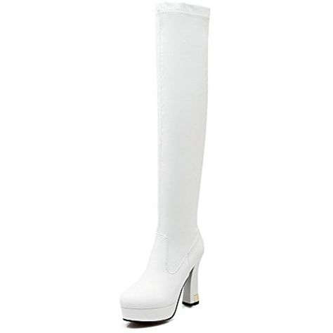 Women's Blend Materials Solid Closed Toe Boots with Thread