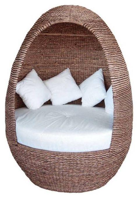 Wellness Mobel Kokon Wasserbetten - Design - kuschelige sofas corbeille sofa edra