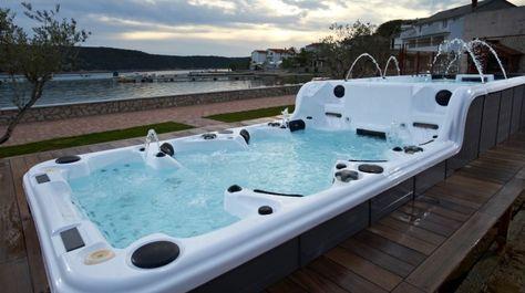 Ultra Luxury Spa Enjoy Surfing Massage Full Range Of Hydraulic