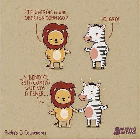 Oracion http://www.grafichistes.com/graficos/oracion/ - #Chistes #Humor http://www.grafichistes.com