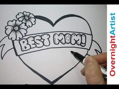 4240e552968adbd7f58b9c36e9b371d4  drawing lessons for kids drawing ideas » Cute Things To Draw For Your Mom
