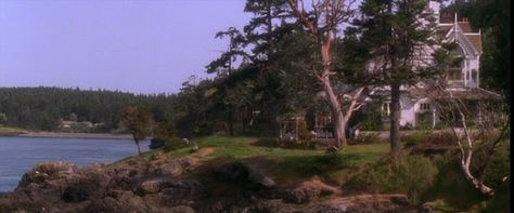 Seaside setting for the house in the movie Practical Magic.