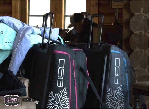 DSG Outerwear Roller Gear Bag Black
