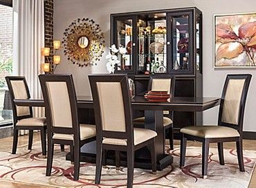 Callister 7Pcdining Set  Dining Ideas  Pinterest  Dining Magnificent Raymour And Flanigan Dining Room Set Design Inspiration